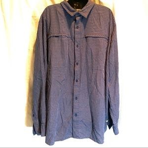 The North Face XXL button-down longsleeve blue